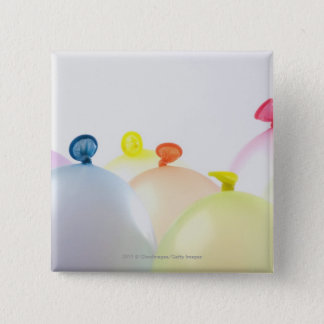 Close-up of balloons button