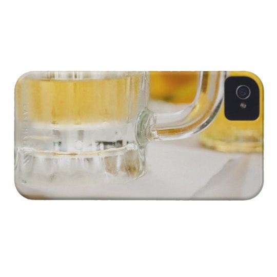 Close up of beer in glass iPhone 4 cover