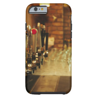 Close-up of beer taps in bar 2 tough iPhone 6 case