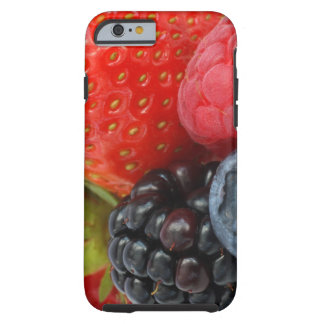 Close-up of berries tough iPhone 6 case