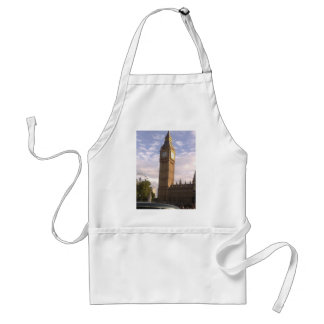 Close Up Of Big Ben Adult Apron