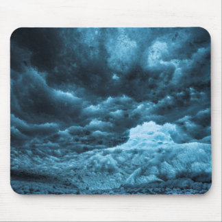 Close up of blue ice, Iceland Mouse Pad