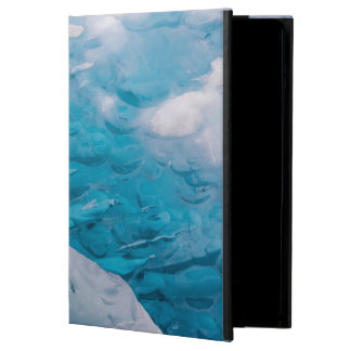 Close-up of blue ice iPad air cases