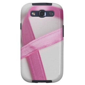Close up of Breast Cancer Awareness Ribbon Samsung Galaxy S3 Case