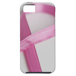 Close up of Breast Cancer Awareness Ribbon iPhone 5 Cases