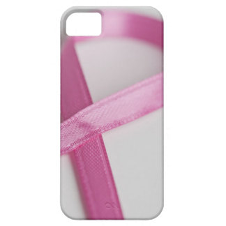 Close up of Breast Cancer Awareness Ribbon iPhone 5 Case