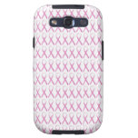 Close up of Breast Cancer Awareness Ribbons Samsung Galaxy SIII Case
