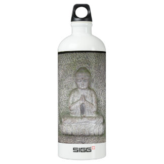 Close up of Buddha on a Relief Sculpture SIGG Traveler 1.0L Water Bottle