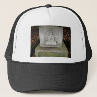 Close up of Buddha on a Relief Sculpture Trucker Hat
