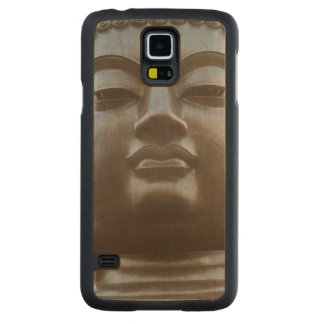 Close-up of Buddha statue Carved® Maple Galaxy S5 Case