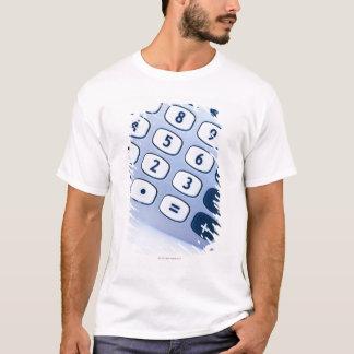 close-up of calculator buttons T-Shirt