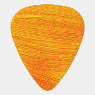 Close-up of canvas painting guitar pick