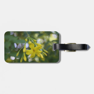 Close Up Of Carolina Jasmine Luggage Tag