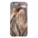 Close-up of cat whiskers and muzzle barely there iPhone 6 case