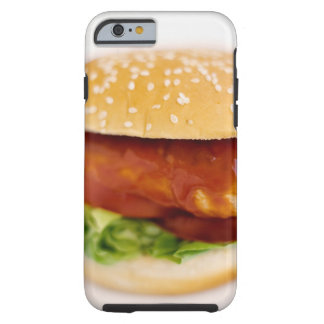 Close-up of chicken burger tough iPhone 6 case