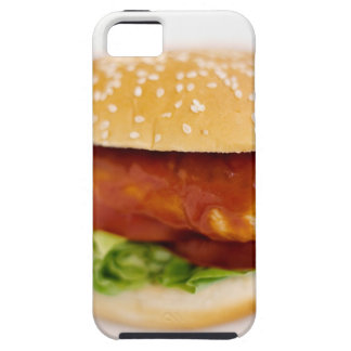 Close-up of chicken burger iPhone 5 covers