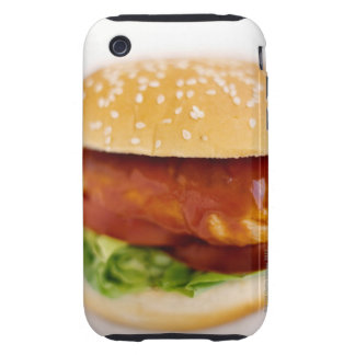 Close-up of chicken burger iPhone 3 tough covers