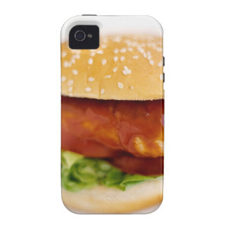 Close-up of chicken burger iPhone 4/4S cover