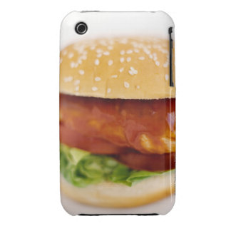 Close-up of chicken burger Case-Mate iPhone 3 cases