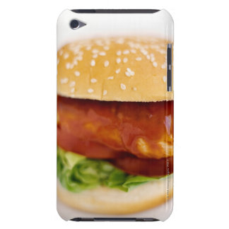Close-up of chicken burger iPod touch cover