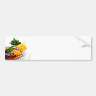 Close-up Of Chili Beans Bumper Sticker
