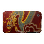 Close up of Chinese silk Case-Mate iPhone 3 Case