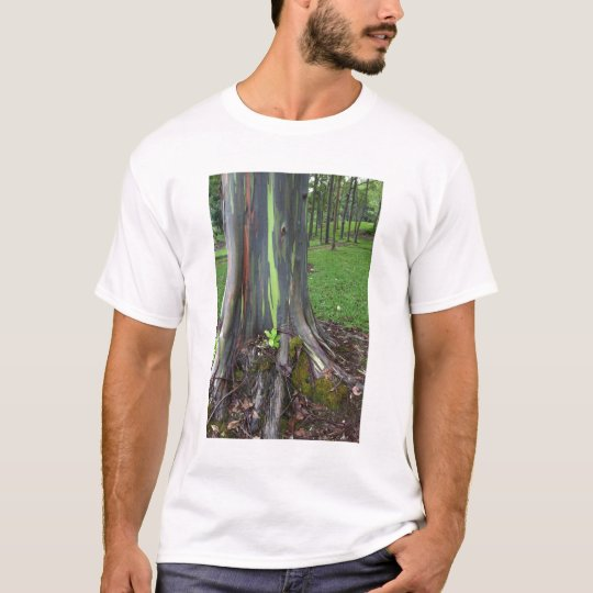 Close-up of colorful eucalyptus tree bark T-Shirt