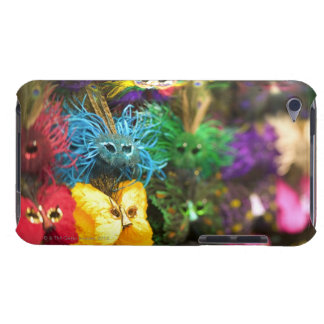 Close-up of colorful miniature masks in a New iPod Touch Case-Mate Case