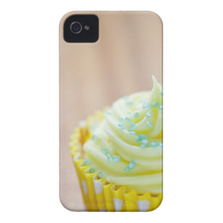 Close up of cup cake showing decoration iPhone 4 cover