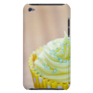 Close up of cup cake showing decoration iPod Case-Mate case