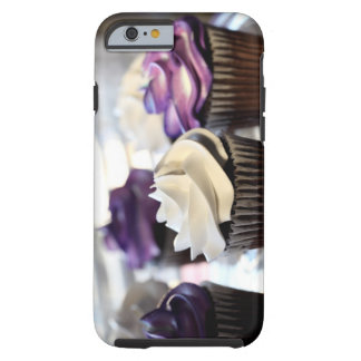 Close-up of cupcakes with selective focus on tough iPhone 6 case