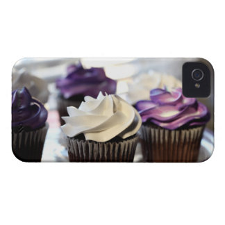 Close-up of cupcakes with selective focus on iPhone 4 Case-Mate case