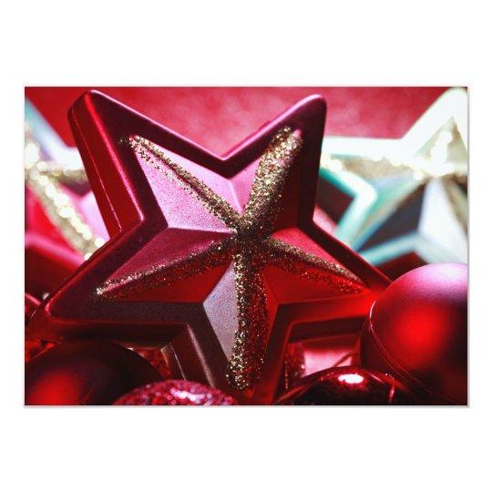 Close up of decorative ornaments card
