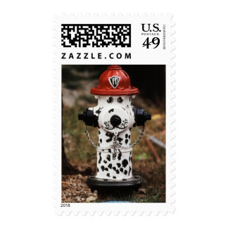 Close-Up of Fire Hydrant Postage