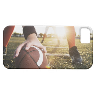 Close up of football center preparing to snap iPhone SE/5/5s case