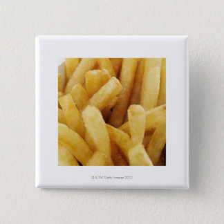 Close-up of French fries Button