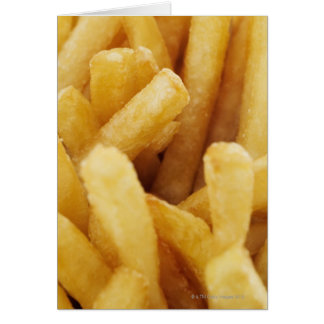 Close-up of French fries Greeting Card