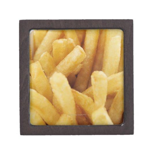 Close-up of French fries Keepsake Box