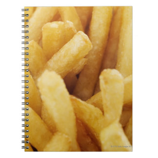 Close-up of French fries Spiral Notebook