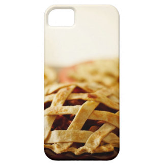 Close-up of fresh pie with lattice pattern crust iPhone SE/5/5s case
