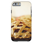 Close-up of fresh pie with lattice pattern crust tough iPhone 6 case
