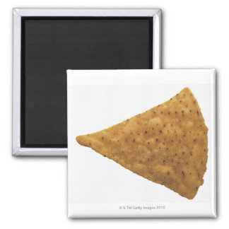 close-up of fried savory 2 inch square magnet