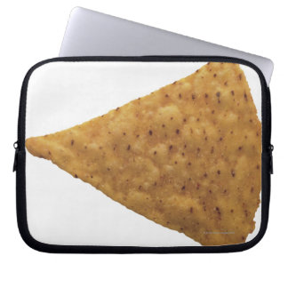 close-up of fried savory laptop sleeve