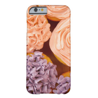 Close-up of frosted cupcakes barely there iPhone 6 case