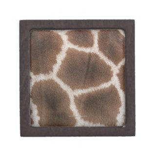 Close up of Giraffes Skin Keepsake Box