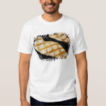 Close-up of grilled chicken breasts t-shirt