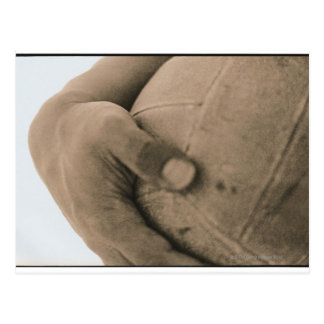 Close-Up of Hand with Volleyball Postcard