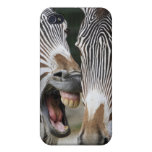 close-up of head of zebras, Equus Sp., Berlin Covers For iPhone 4