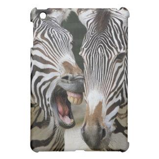 close-up of head of zebras, Equus Sp., Berlin iPad Mini Cover
