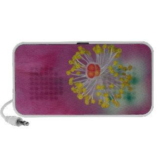 Close-up of Hibiscus flower stamen, Hibiscus Travel Speaker